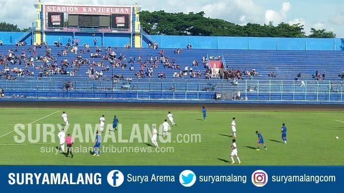 Di Mana Aremania? Tiket Dijual Murah, Tapi Kanjuruhan Sepi saat Arema FC Uji Coba Lawan Semeru FC