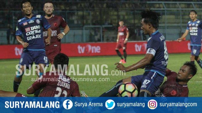 Live Streaming Arema FC vs PSM Makassar Liga 1 2019 Hari Ini, Rabu 2 Oktober, Kick Off 18.30 WIB
