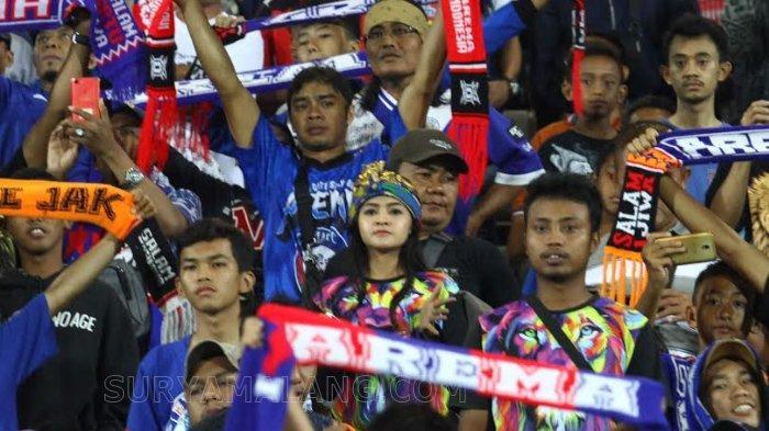 Wacana Aturan 'Suporter Datang, Klub Dianggap Kalah', Manajemen Arema FC Minta Aremania di Rumah