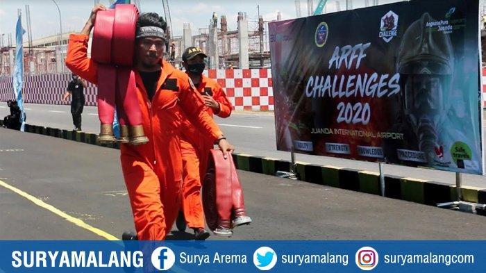 Tetap Semangat Uji Keterampilan & Stamina Personel Di ARFF Challenge 2020 dengan Protokol Kesehatan