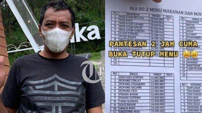 Alasan Pemilik Warung Tawangmangu Pasang Tarif Makanan Jutaan Rupiah, Dibiarkan Meski Pembeli Syok