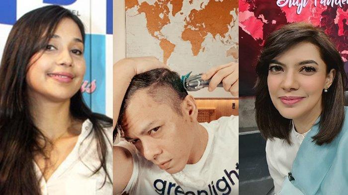 Pesona Ariel Noah Potong Rambut Menggoda Ayu Azhari sampai Najwa Shihab, Sigap Tawarkan Bantuan