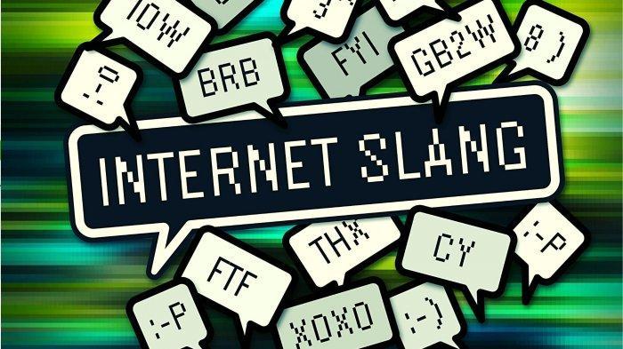 Ilustrasi bahasa gaul di internet