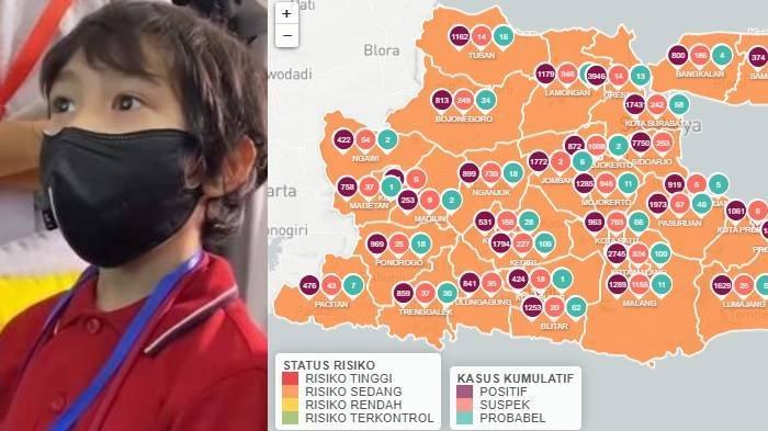 Update Zona Merah Jatim Selasa 15 Desember 2020: Lumajang, Tulungagung, Bondowoso Zona Oranye