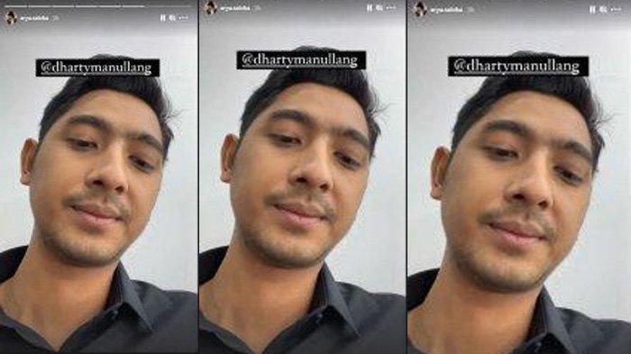 Arya Saloka mengunggah momen bersama Dharty Manullang