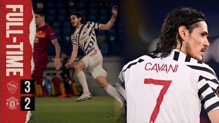 HASIL SKOR AS RomavS Manchester Uniteddalam leg kedua babak semifinal Liga Europa 2020-2021 di Stadio Olimpico pada Kamis (6/5/2021) waktu setempat atau Jumatdini hari WIB adalah 3-2. Cavani mencetak 2 gol dan MU lolos ke Final dengan agregat 5-8.