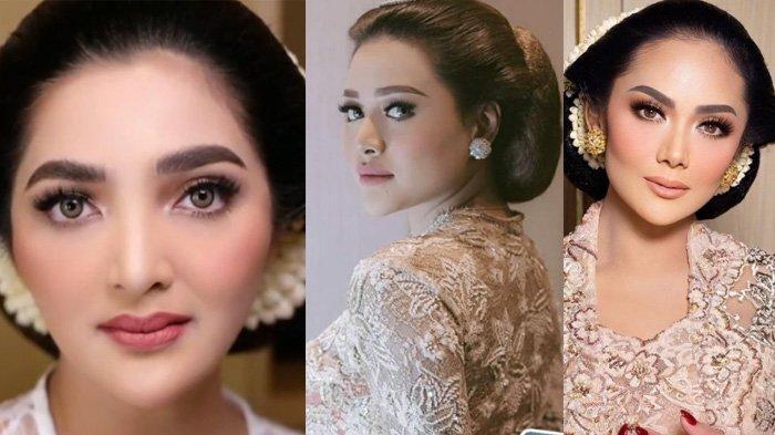 Potret Kompak Ashanty & Krisdayanti Gandeng Aurel & Atta Menuju Akad, Sah Disaksikan Jokowi & Iriana