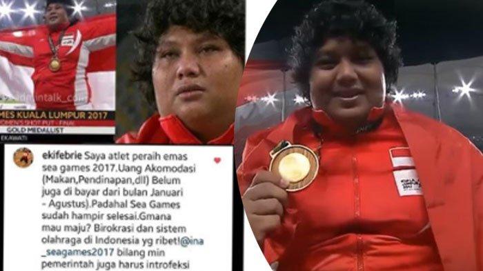 Kisah Pilu Atlet Peraih Emas di SEA Games 2017, Berbulan-bulan Uang Akomodasi Belum Dibayar