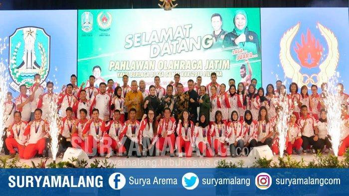 Gubernur Jatim Janjikan Beasiswa Pendidikan Hingga Jenjang S3 Bagi Atlet Berprestasi SEA Games 2019