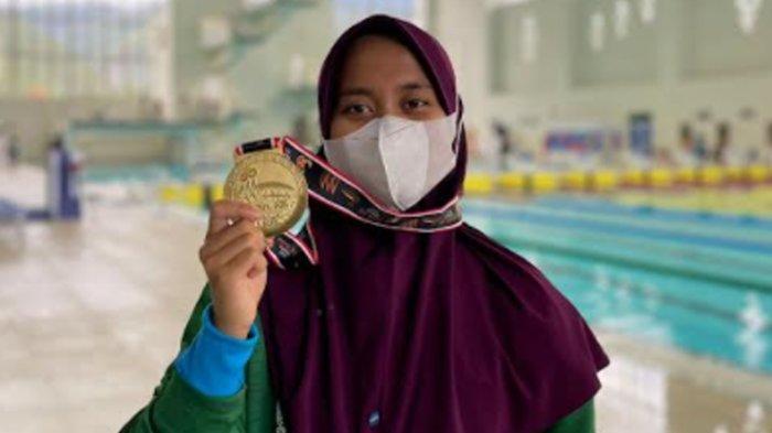 Atlet Selam Asal Batu Nafa Amadea Raih Medali Emas PON XX Papua untuk Jatim