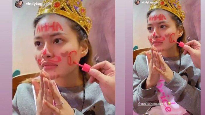 Aurel Hermansyah bridal shower