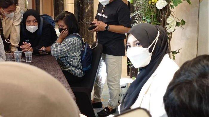 Aurel Hermansyah saat ditemui di kawasan Pondok Indah, Jakarta Selatan, Senin 4 Oktober 2021