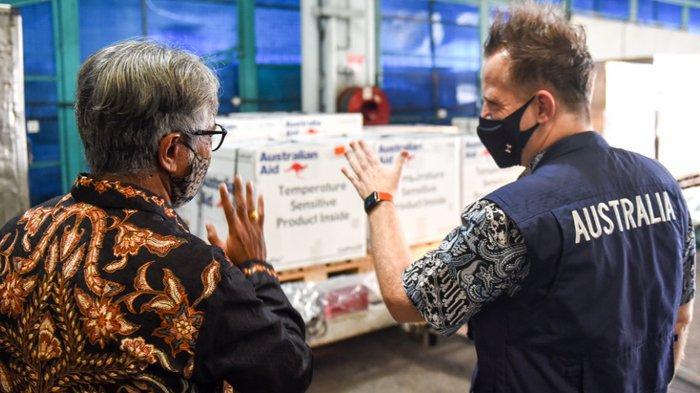 Australia Kirim 500 Ribu Dosis AstraZeneca Untuk Indonesia