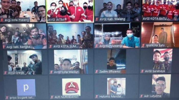 Dihadiri Wali Kota Batu Dewanti, AVGI Lantik Pengurus Cabang di 10 Kota dan Kabupaten di Jatim
