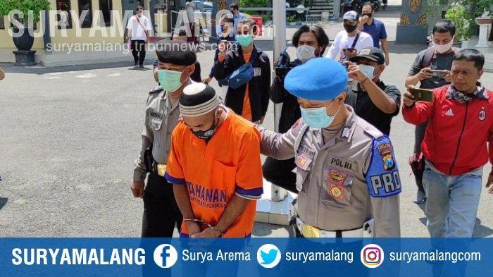 Ayah tiri di Ponorogo menghamili anaknya saat istri kerja ke Surabaya.