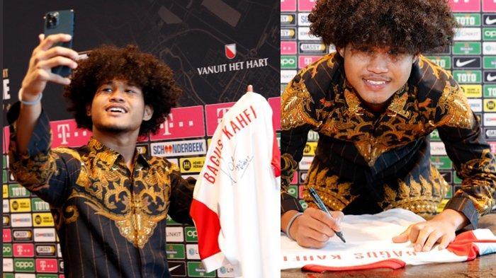 Baju Batik Bagus Kahfi Saat Resmi Bergabung FC Utrecht, Jerseynya Langsung Dijual di Medsos