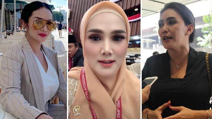 Baju Mulan Jameela di Pelantikan DPR jadi Sorotan, Kontras dengan Krisdayanti & Rieke Diah Pitaloka