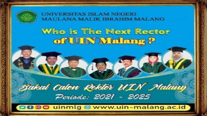 1 Balon Calon Rektor UIN Maliki Malang, Prof Nur Yasin, Kini Tinggal 6 Orang