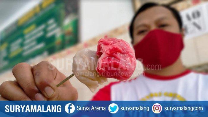 Bakso Merah Putih H Giman, Menu Khusus Sambut HUT RI Ala Pedagang Bakso di Gresik yang Laris Manis
