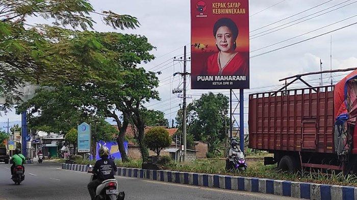 Baliho Puan Maharani Bertebaran di Ponorogo, PDIP Bantah Untuk Persiapan Pilpres 2024