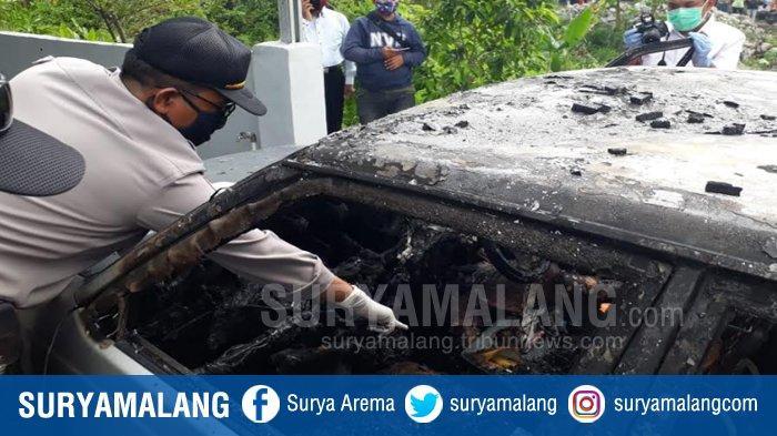 BREAKING NEWS : Dua Balita Tewas Terbakar di Dalam Mobil Parkir di Pandaan Pasuruan