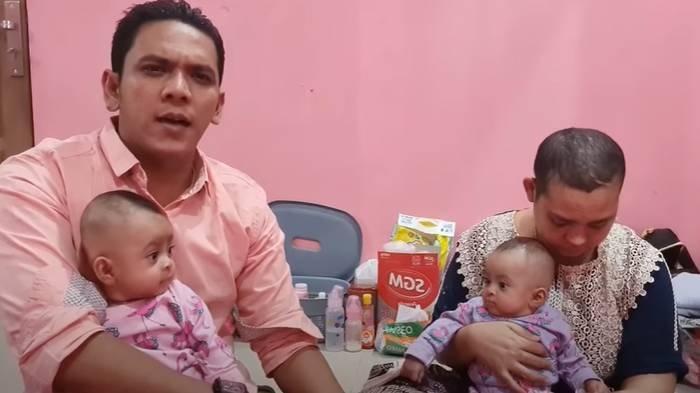 Bang Ipon mengabarkan kondisi istri dan anaknya