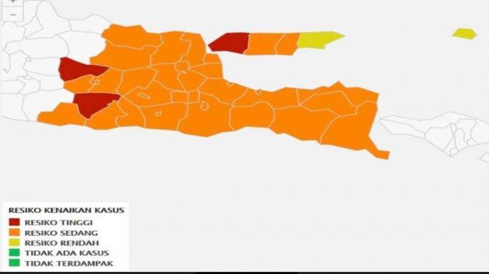 Zona Merah dan Orange Tak Gelar PTM, Pemprov Jatim Putuskan: yang Boleh Hanya Zona Kuning dan Hijau