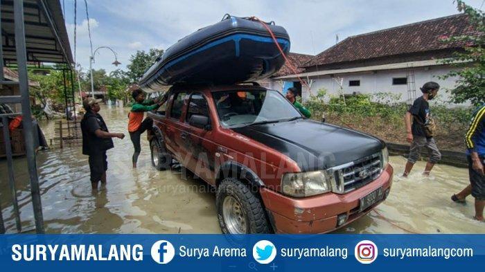 Banjir Rendam Ratusan Rumah di Jetis dan Dawarblandong Kabupaten Mojokerto, Sawah Gagal Panen