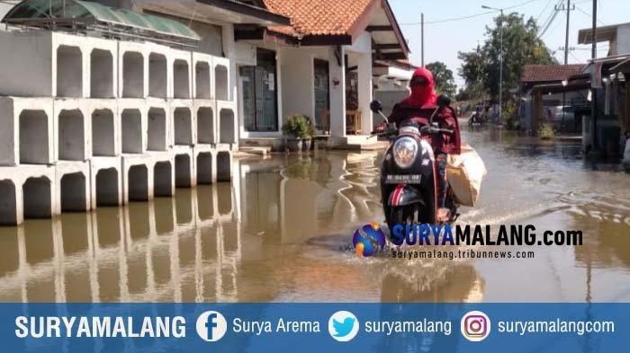 Sudah Sepekan Banjir Menggenang di Kedungbanteng Sidoarjo