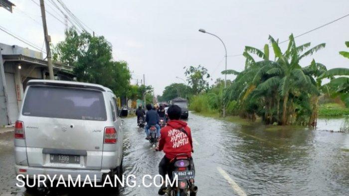 Banjir Luapan Kali Lamong Masih Rendam 840 Rumah di Gresik