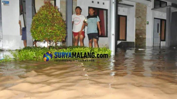 Hujan Lebat, Sungai Bedadung Jember Banjir