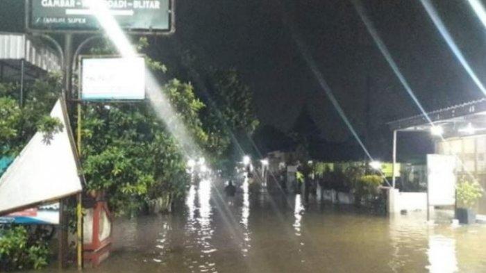 4 Desa Terendam Banjir Akibat Luapan Air Sungai di Kecamatan Wonodadi, Kabupaten Blitar