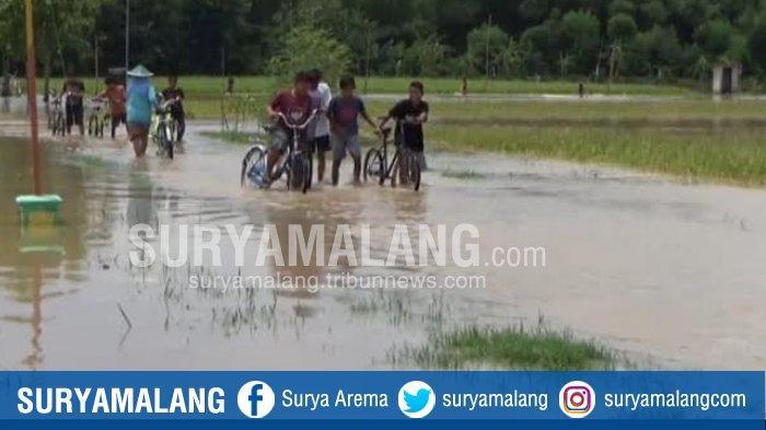 Banjir di Ngawi, 15 Desa di Empat Kecamatan Terendam Luapan Bengawan Solo, Warga Diminta Waspada