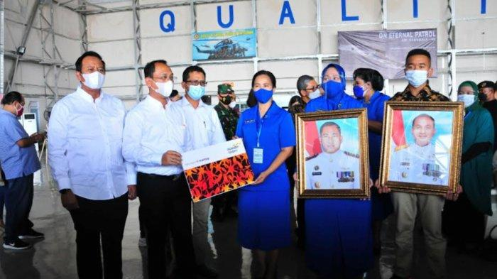 17 Ahli Waris Kru Kapal Selam KRI Nanggala-402 Terima Santunan Asuransi dari Bank Mandiri Taspen