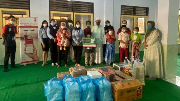 Ramadan 2021, Bank Sampoerna Cabang Malang Santuni 50 Anak Yatim di Pakisaji