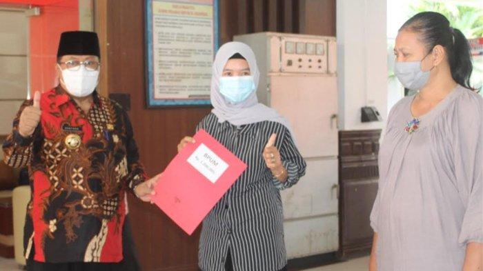 Ratusan Pelaku Usaha Kecil di Kota Blitar Dapat Bantuan Pemerintah Usaha Mikro Sebesar Rp 1,2 Juta