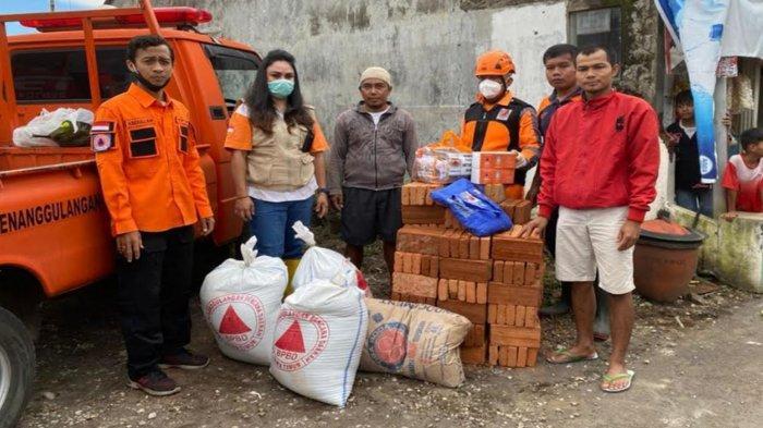 BPBD Kota Malang Langsung Kirim Bantuan Logistik, Bantu Warga Bandulan Yang Terdampak Gempa Bumi