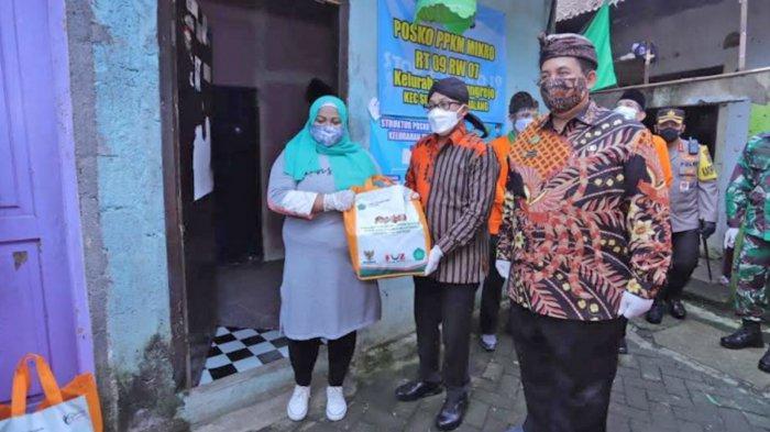 Wali Kota Malang Sutiaji Bersama Forkopimda Resmikan Kampung Qoryah Sakinah di Kelurahan Tanjungrejo