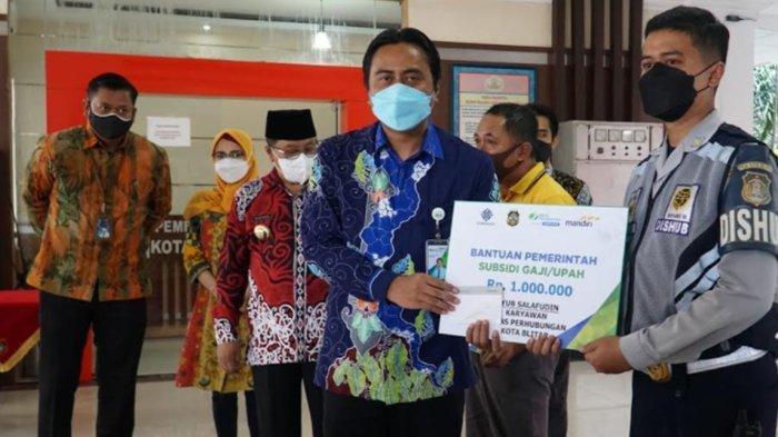 BPJS Ketenagakerjaan Blitar Sudah Salurkan Bantuan Subsidi Upah 6294 Pekerja Kota/Kabupaten Blitar