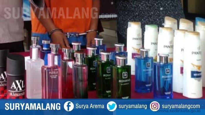 Petualangan Maling Asal Bangkalan Berakhir di Sidoarjo, Biasa Mencuri Sampo dan Parfum di Minimarket