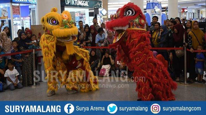 Pemuda Tionghoa-Jawa Bersatu di Tarian Singa, Berharap Tahun Baru Imlek Ini Indonesia Lebih Maju