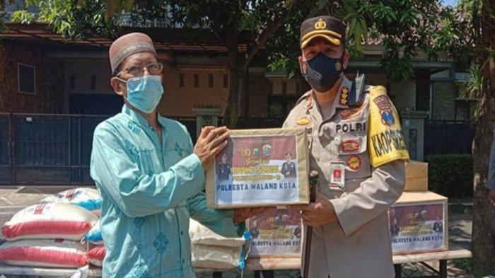 UPDATE Kondisi Perumahan Bukit Hijau Tlogomas Terdampak Covid-19, Polresta Malang Kota Beri Bantuan