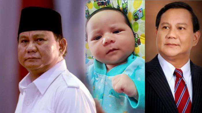 Bayi Mirip Prabowo Viral, Sang Ibu Disebut Antusias Dukung Capres 02, Didoakan Kelak Jadi Presiden