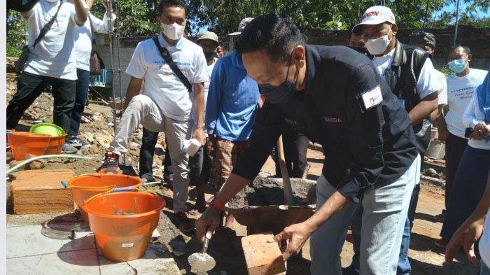 DPD Apersi Bedah Rumah Korban Terdampak Gempa di Malang