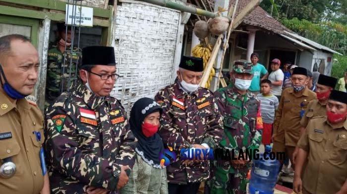 Sudah Selesai 210 Unit, Baznas Kabupaten Malang Ingin Penuhi Target Bedah Rumah saat Covid-19