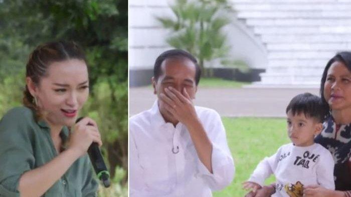 Begini Sikap Iriana Saat Zaskia Gotik 'Goda' Presiden Jokowi dengan Sebutan Abang