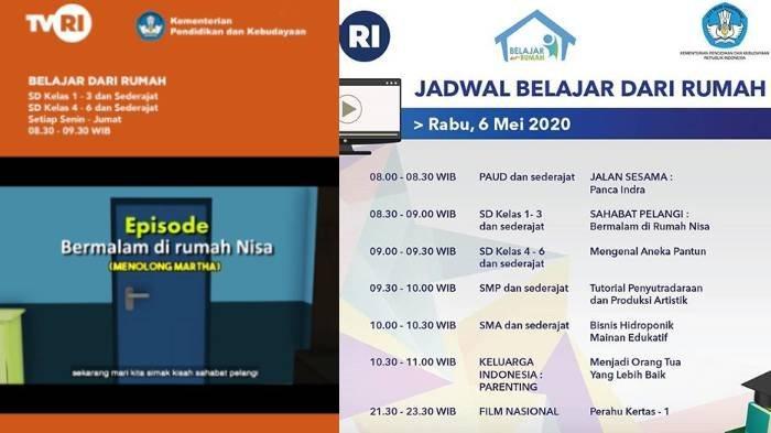 Kunci Jawaban Soal Kelas 1-3 SD di TVRI Rabu 6 Mei 2020: Apa Alat Transportasi Untuk Pergi ke Ambon?