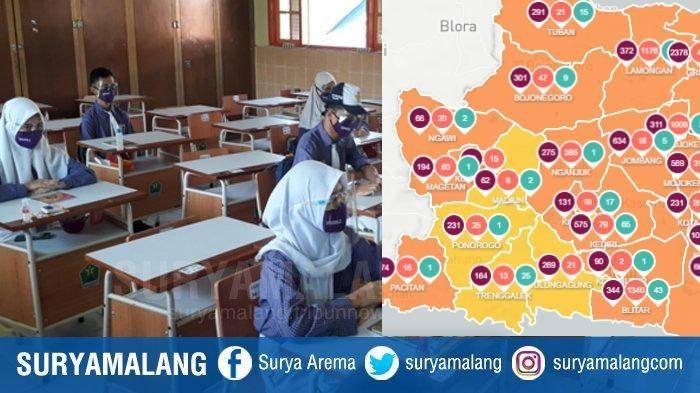 Berita Malang Hari Ini Jumat 21 Agustus Populer: Sekolah Tatap Muka SMPN 8 & Zona Oranye Covid-19