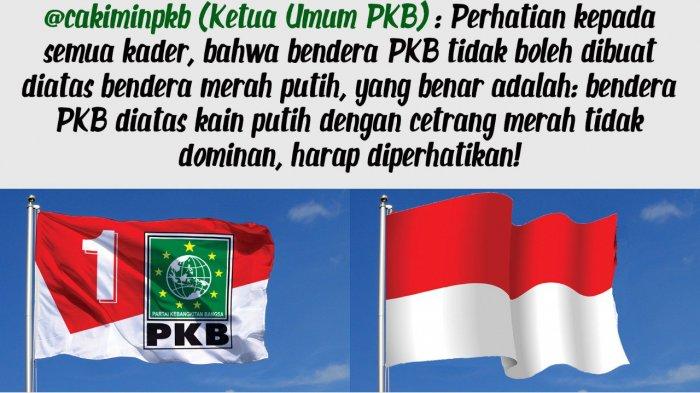 Muhamin Iskandar Tegaskan Bendera PKB Tak Gunakan Bendera Merah Putih