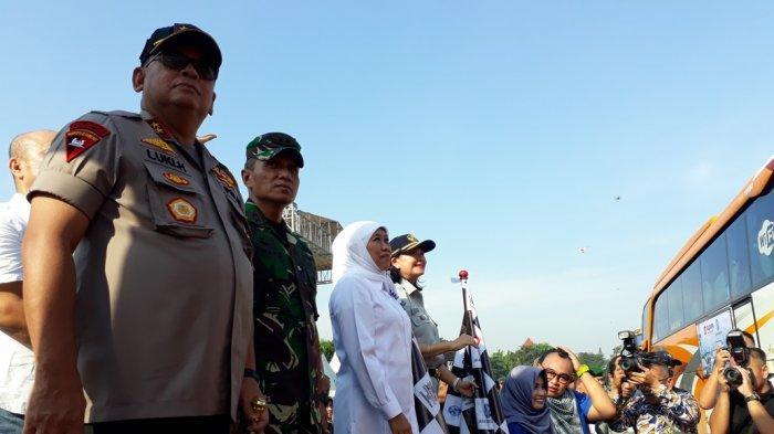 Jasa Raharja Di Jatim Berangkatkan 2.000 Peserta Mudik Gratis Ke 18 Kota Di Empat Provinsi